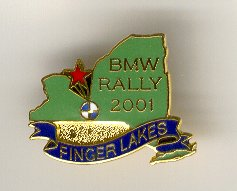 Rally Pin for 2001