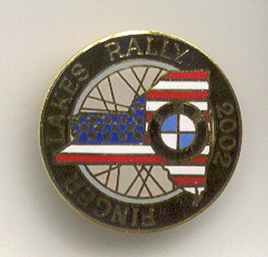 Rally Pin for 2002